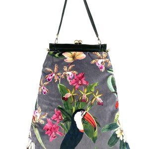 shopping bag fantasia floreale