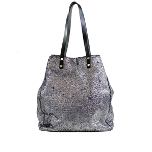 shopping bag argentatat