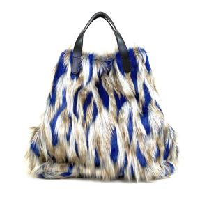 shopping bag mongolia blu