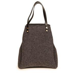 shopping bag tessuto lana
