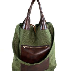 shopping bag verde