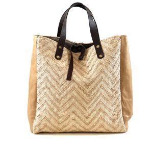 shopping bag in paglia