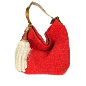 borsa secchiello rossa