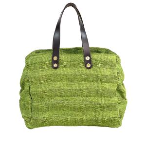 borsa bauletto verde