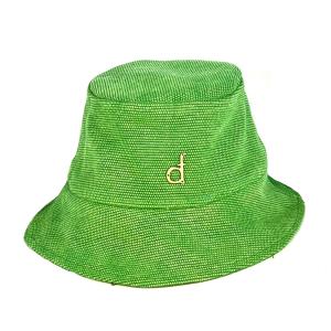 cappellini in cotone verde mela