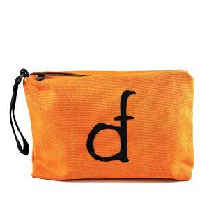 maxi pochette arancione