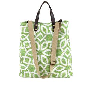shopping bag verde acido