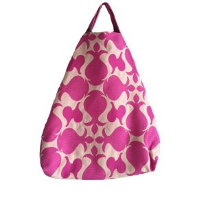 maxi shopping bag fucsia